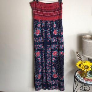 Xhilaration Bohemian Maxi Dress Size XL